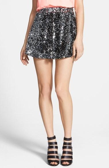 Sparkly Skater Skirt