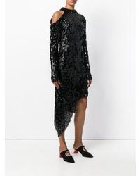 Magda Butrym Asymmetric Sequin Dress