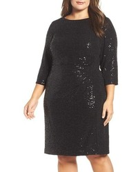 Vince Camuto Plus Size Sequin Sheath Dress