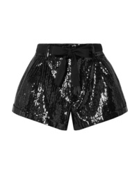 Saint Laurent Sequined Wool Shorts