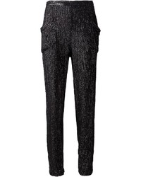 Fleur du mal sequin embellished trousers medium 357772