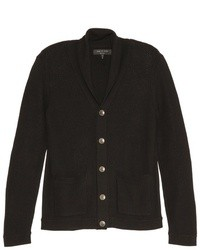 Black Shawl Cardigan