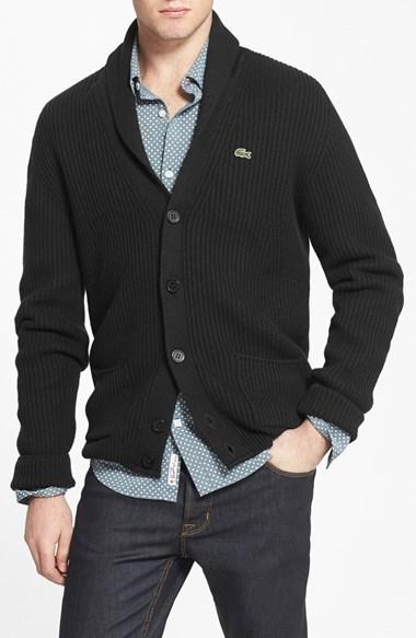 chale en col c tel Cardigan tricot qgHwZ