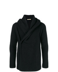 Nuur Ribbed Wrapped Cardigan