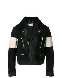 Maison Margiela Contrasted Biker Jacket