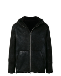 Salvatore Santoro Hooded Shearling Jacket