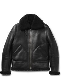 Ian shearling jacket medium 814706