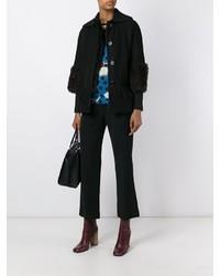Marni Shearling Boxy Jacket