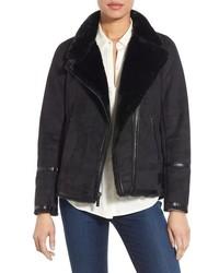 MICHAEL Michael Kors Michl Michl Kors Asymmetrical Faux Shearling Jacket
