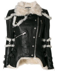 Shearling trim jacket medium 4947570