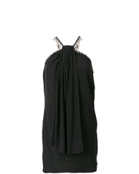 Saint Laurent Halter Neck Fitted Dress