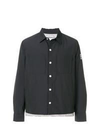 Moncler Gamme Bleu Cropped Shirt Jacket