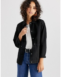 ASOS DESIGN Washed Cotton Jacket
