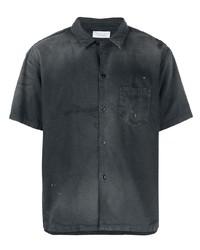 John Elliott Distressed Short Sleeved Shirt