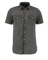Jack & Jones Jorone Slim Fit Shirt Black Denim
