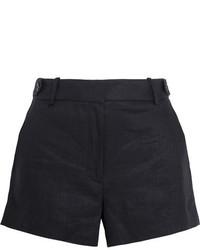 J.Crew Kyle Linen Shorts Black