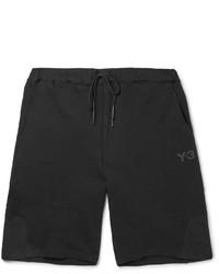 Y-3 Loopback Cotton Jersey Shorts