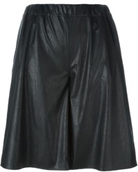 MM6 MAISON MARGIELA Wide Leg Knee Shorts