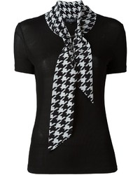 Salvatore Ferragamo Tie Neck Blouse