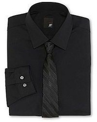 jcpenney Jf Jferrar Jf J Ferrar Boxed Shirt And Tie Set