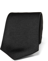 8cm ribbed silk tie medium 171542