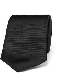 8cm ribbed silk tie medium 707418