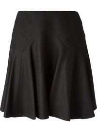 Ralph Lauren Black Flared Skirt