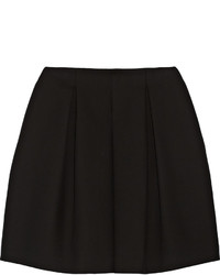 Fendi Pleated Cotton Crepe Skirt