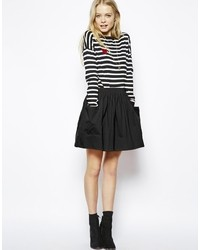 Asos Skater Skirt With Pockets