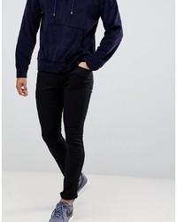 Hugo 734 Skinny Fit Jeans In Black