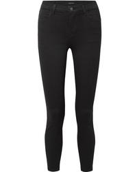 J Brand Alana Cropped High Rise Skinny Jeans