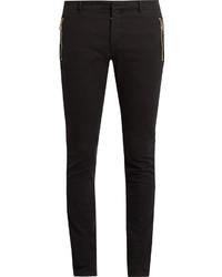 Balmain Zip Detail Skinny Jeans