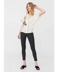 Mango Belle Jeans Skinny Fit Black