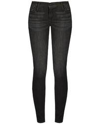 Frame Le Skinny De Jeanne Mid Rise Jeans