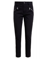 Michael Kors Hirise Zip Slim Fit Jeans Black