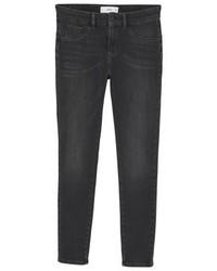 Mango Irina Jeans Skinny Fit Black Denim