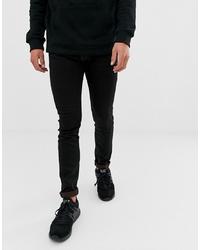 Emporio Armani J35 Skinny Fit Black Wash Jeans