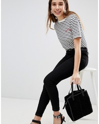 New Look Jenna Jeans With Skinny Leg In Black