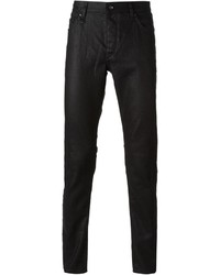 John Varvatos Coated Skinny Jeans