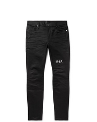 RtA Logo Embroidered Denim Jeans