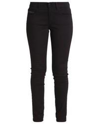 Calvin Klein Mid Rise Skinny Slim Fit Jeans Black