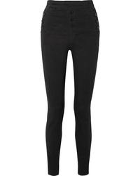J Brand Natasha Sky High Rise Skinny Jeans