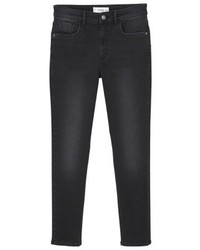 Mango Noa Jeans Skinny Fit Black Denim