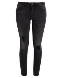 Only Onlkendell Slim Fit Jeans Black