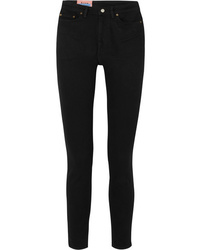 Acne Studios Peg High Rise Skinny Jeans