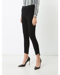 Mother Raw Hem Skinny Jeans