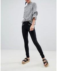 Only Royal Pearl Embellished Skinny Jeans