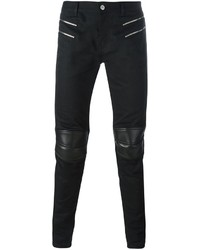 Saint Laurent Skinny Motorcross Jeans