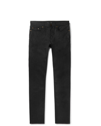Saint Laurent Skinny Fit Raw Stretch Denim Jeans