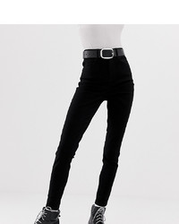 Collusion Skinny Jeans In Black